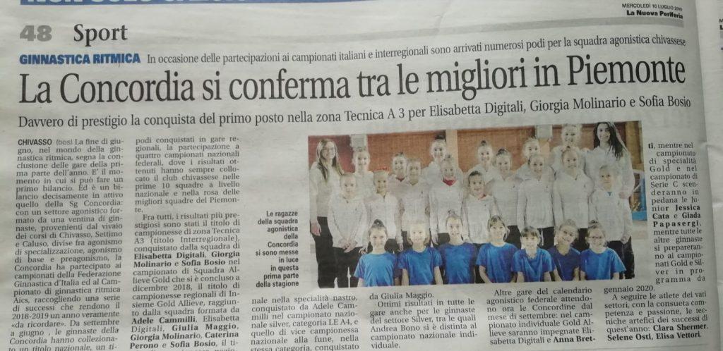 Calendario Fgi 2020.Rassegna Stampa S G Concordia